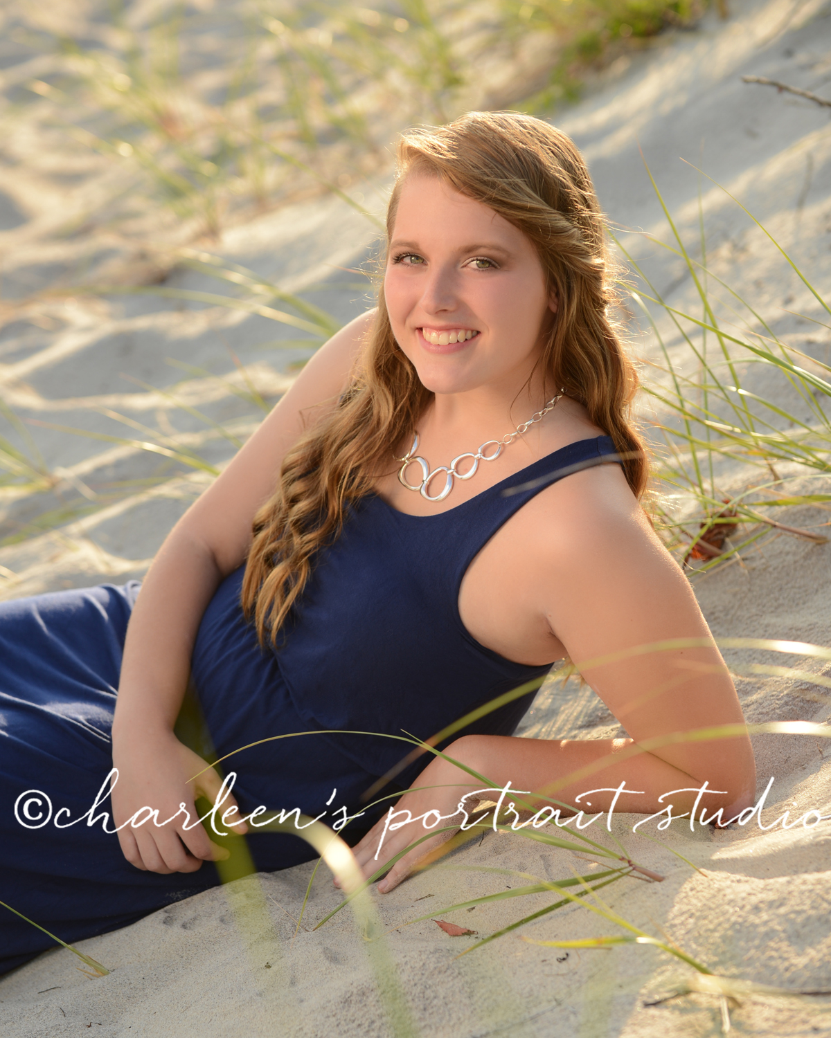 Senior Portraits at Harkness Park